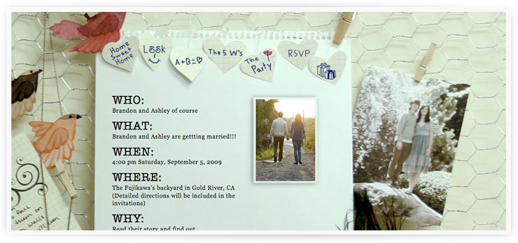 The Wedding Website of Ashley and Brandon